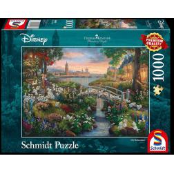 Puzzle Disney 1000 pcs - Les 101 Dalmatiens