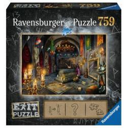 Puzzle Escape dans le château des vampires 759 pièces