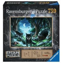 Puzzle Escape Histoires de loups 759 pièces
