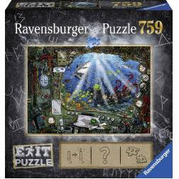 Puzzle Escape sous-marin 759 pièces