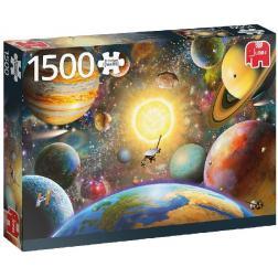 Puzzle Flottant dans l'espace 1500 pièces