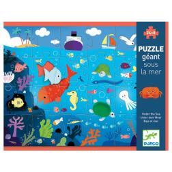 Puzzle géant - Sous la mer
