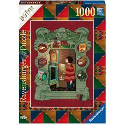 Puzzle Harry Potter et la famille Weasley 1000 pièces