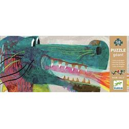 Puzzle Léon le dragon 58 pièces