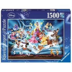 Puzzle Livre d'histoires magique de Disney 1500 pièces