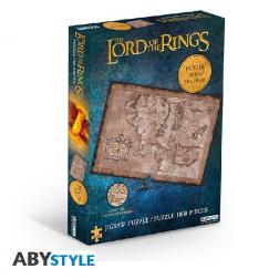 Puzzle Lord of rings : Terre du Milieu 1000 pièces