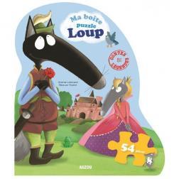 Puzzle Loup Contes & légendes 54 pièces