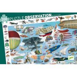 Puzzle Observation Aéroclub 200 pièces