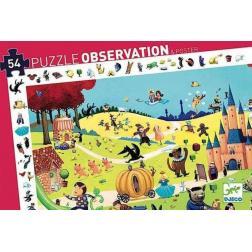 Puzzle Observation Contes : 54 pièces