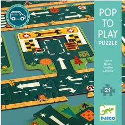 Puzzle Pop to Play - Route 21 pièces