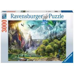 Puzzle Règne des Dragons 3000 pièces