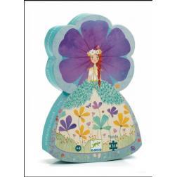 Puzzle Silhouette - La princesse du printemps 36 pièces