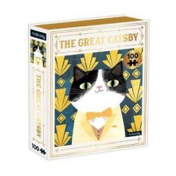 Puzzle The Great Catsby Bookish Cat 100 pièces