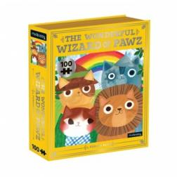 Puzzle The Wonderful Wizard of Pawz Bookish Cats 100 pièces