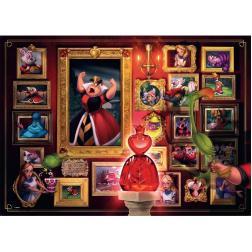 Puzzle Villainous La reine de coeur 1000 pièces