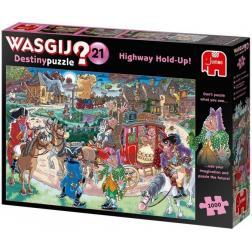 Puzzle Wasgij Destiny 21 - Autobahn-Überfall! - 1000 pièces