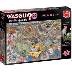 Puzzle Wasgij Destiny 22 - Entsorgen ohne Sorgen? - 1000 pièces