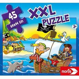 Puzzle XXL Pirates en vue 45 pièces
