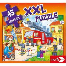 Puzzle XXL Puzzle des pompiers en action 45 pièces
