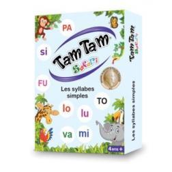 Tam Tam Safari : Les syllabes simples