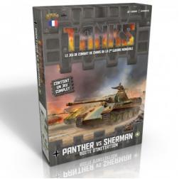 Tanks : Panter vs Sherman Boite d'initation