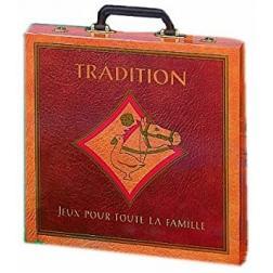 Tradition : coffret 50 jeux pour toute la famille